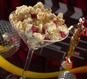 Glitterazzi Popcorn Martinis