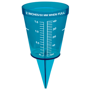 how to make an accurate rain gauge