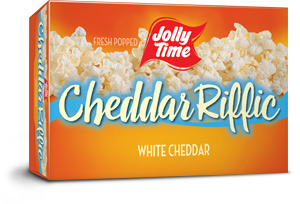 Jolly Time Cheddar Riffic Microwave Pop Corn