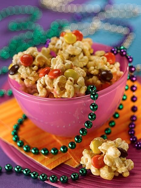 Bite-Size Peanut Butter Popcorn Balls Recipe