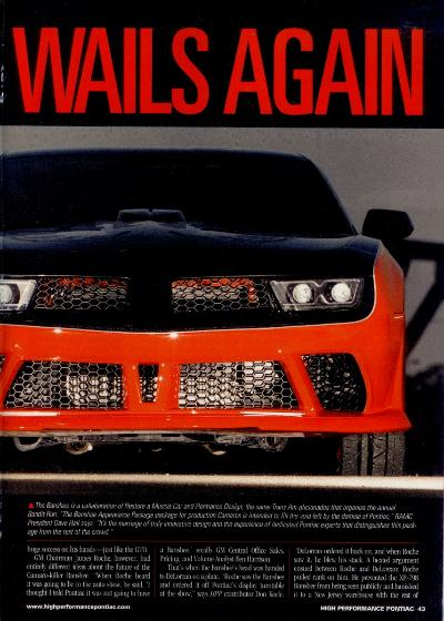 High Performance Pontiac Banshee TA Restore a Muscle Car Custom Car Conversion