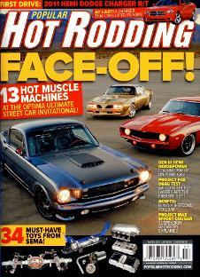 Popular Hot Rodding 1973 Trans Am Optima Challenge RAMC Muscle Car