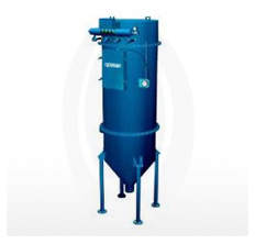 Filter receivers pneumatically convey any dry bulk material with pulse jet reverse flow air