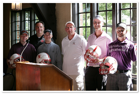 2012 Bo Pelini Foundation Celebrity Golf Tournament Winning Foursome